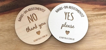 Image result for consent cards yoga